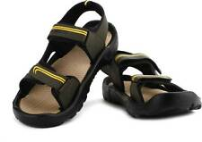 Globalite Capland Men Olive, Yellow Sandals ,  MRP-499/-
