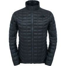 North Face Thermoball Full Zip Mens Jacket Synthetic Fill - Asphalt Grey Fusebox