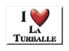 MAGNETS FRANCE - LANGUEDOC ROUSSILLON I LOVE LA TURBALLE  (LOIRE ATLANTIQUE)