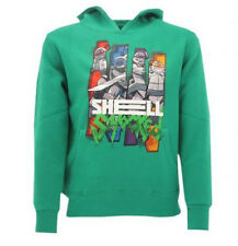 Sweat-shirt Ninja Turtles Original Tortues Bleu Vert Shell Sweat
