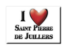 MAGNETS FRANCE - PROVENCE ALPES CÔTE D'AZUR I LOVE SAINT PIERRE DE JUILLERS (CHA