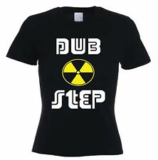 DUBSTEP TOXIC SYMBOL WOMEN'S T-SHIRT - Dub Step Drum & Bass Rave - Sizes S-XL