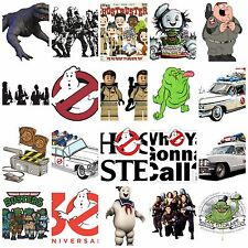 ghost busters Iron on T Shirt heat Transfer diy free postage comedy gonna call