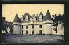 remarquable CPA Monbazillac, Chateau, Facade sud 1932