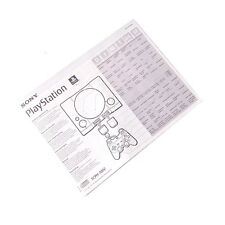 Official Sony PlayStation 1 PS1 Console Manual. SCPH-7002