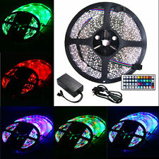 STRISCIA LED RGB SMD 5050 3528 300LED 10 METRI STRIP RGB LUCE MULTICOLOR