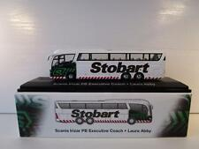 Atlas Editions Eddie Stobart Scania Irizar PB Executive Coach 1:76 scale Boxed