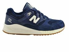 NEW BALANCE 530 NAVY SIZE UK 4 EU 37 RARE 574 576 850 991 993 WOMENS TRAINERS