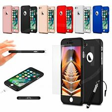 For Samsung Galaxy S7 / SM-G930F - Full Coverage 360 Hard Case w/ Glass &Ret Pen