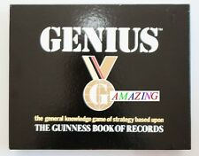 GENIUS - THE GUINESS BOOK OF RECORDS BOARD GAME - GENERAL KNOWLEDGE QUESTIONS