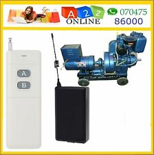 Rf Remote  Control Switch  For  Electric  Generator With HiTech Feature