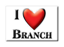 SOUVENIR USA - ARKANSAS FRIDGE MAGNET AMERICA I LOVE BRANCH (FRANKLIN COUNTY)