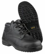 Amblers FS130C Safety Ladies Black Composite Toe Cap Womens Boots Shoes UK3-8