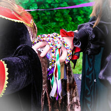 Personalized Handfasting Cords, Pagan, Wiccan, Spells, Ritual, Wedding, Gothic