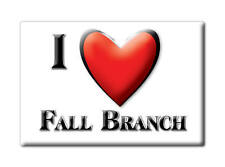 SOUVENIR USA - TENNESSEE FRIDGE MAGNET I LOVE FALL BRANCH (WASHINGTON COUNTY)
