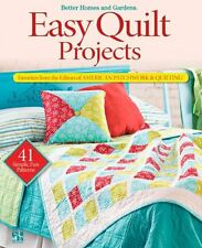 """Easy Quilt Projects Favorites from the Editors of """"American Pat... 9780470559314"""