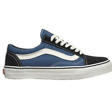 Vans Old Skool Zapatillas Azul Marino Blanco Oldschool Zapatos