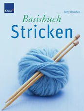 NEU * Betty Barnden* Basisbuch Stricken * shipping worldwide