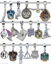 HARRY POTTER BRACELET CHARM BEAD SILVER JEWELERY HOGWARTS PANDORAS BOX OF CHARMS