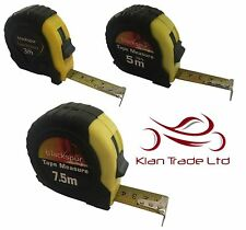 3M / 5M / 7.5M - POCKET TAPE MEASURE (METRIC & IMPERIAL). LOCK AUTO RETURN
