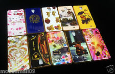 FOR KARBONN TITANIUM MOUGHUL SOFT FANCY METALLIC PRINTED BACK COVER CASE