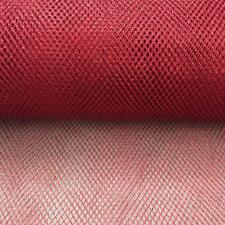 Red METALLIC Dress Net Fish Net TUTU Fabric Material Tulle Mesh Material 150cm