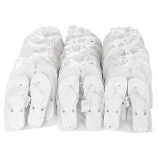 74485261e Zohula White Wedding Party Pack - 20 Pairs Flip Flops - Including Bags and  Tags