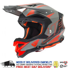 2017 UFO Interceptor 2 Motocross Helmet - Flash White Black Red