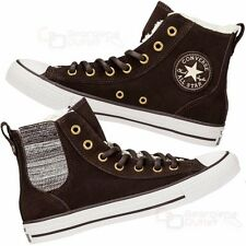 Converse Femmes Chuck Taylor All Star Chelsee Montantes Baskets Cuir Daim