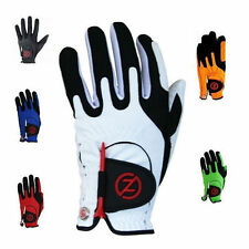2 x Zero Friction Men's Compression Golf Gloves x 2 One Size Fits All, 2 Gloves!