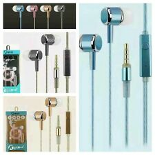 In-Ear Stereo Earphones Headphones Bass Sound With Mic For iPhone Samsung Sony