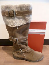 Marco Tozzi Women's Boots Winter boots Ankle boots brown genuine leather New