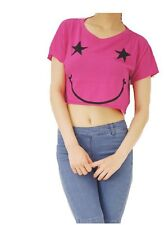 ABBEY DAWN SMILEY DAMAS CROP TOP (B20B)