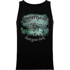 CAMISETA SIN MANGAS  MOTORHEAD CLEAN YOUR CLOCK TANK TOP RFE MC091T