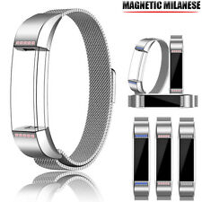 Crystal Milanese Magnetic Loop Stainless Steel Band For Fitbit Alta Smart Watch