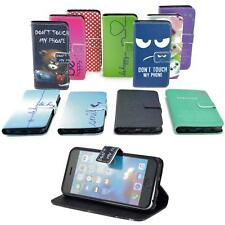 CUSTODIA CELLULARE PER ACER LIQUID Z330 CUSTODIA A LIBRO IPAD ETUI MOTIVO WALLET