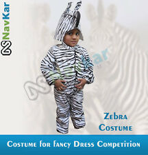 Zebra Costumes for Child Fancy Dress Competition