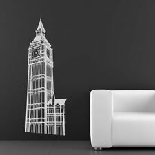 Big Ben di Londra Landmark Regno Unito Wall Stickers Home Decor Art Stickers