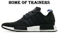Adidas NMD R1 Black And Blue For Men's Trainers All Sizes