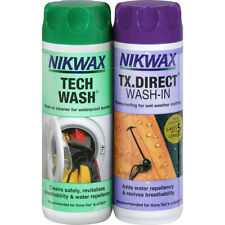 Nikwax Twin Tech Wash Tx Direct 300ml Unisex Cleaning & Proofing - Clear