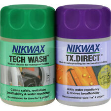 Nikwax Mini Twin Tech Wash Tx Direct 150ml Unisex Cleaning & Proofing - Clear