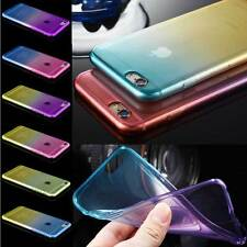Apple iPhone 7 Plus soft silicone double colour back case cover For iPhone 7Plus