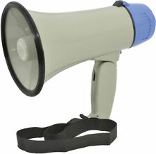 PORTABLE MEGAPHONE 10W LOUD SPEAKER HAILER WITH SIREN ADASTRA L01 952.001UK