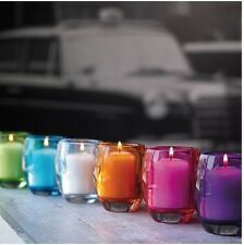 Quality glass Bolsius Relight Tealight Holder Candleholder incl. Candle 24h