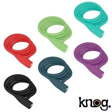 Knog Party Coil Cable 130cm Bike Lock