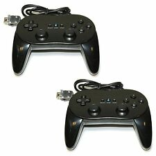 1/2pcs Classic Wired Game Controller Remote Pro Gamepad Shock For Nintendo Wii