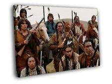 Bury My Heart at Wounded Knee Native American Indians CANVAS Toile