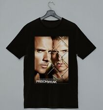 PRISON BREAK POSTER MICHAEL SCOFIELD LINCOLN BURROWS IDEAL GIFT COOL T-SHIRT