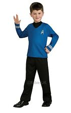 Childs Spock Official Star Trek Fancy Dress Costume Outfit Age 3-10 Years