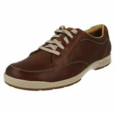 Clarks Mens Casual Leather Shoes 'Stafford Park 5'